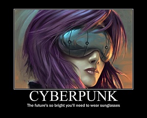 Cyberspace and Cyberpunk...